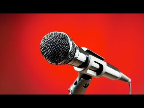How to Speak into a Microphone | Public Speaking
