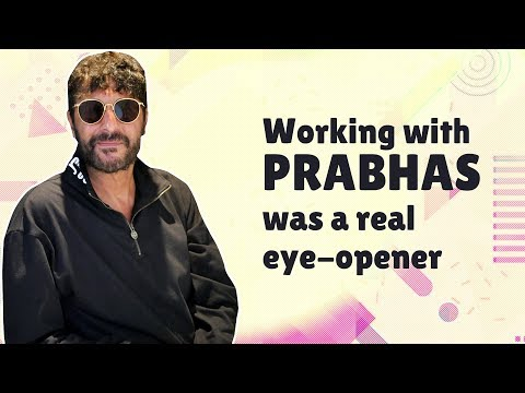 "Chunky Panday: ""Working with Prabhas was a REAL eye-opener 