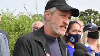 Jon Stewart: 'We're not going to let this happen in the dark.'