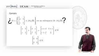 Álgebra Lineal - Subespacio vectorial - Jesús Soto Espinosa