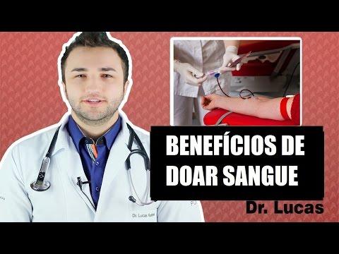 Os benefícios de doar Sangue - Dr Lucas Fustinoni