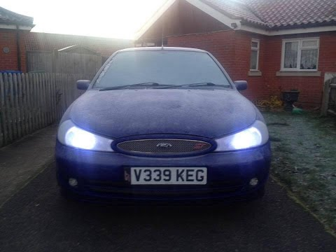 Ford Mondeo ST200 K&N Induction Sound