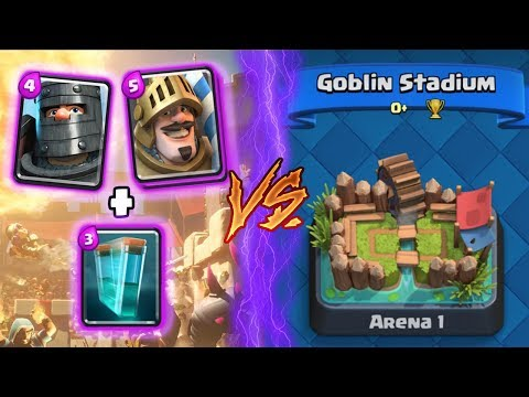 Clash Royale | DARK PRINCE & PRINCE + CLONE TROLLING ARENA 1! | *FUNNY MOMENTS* (Drop Trolling #75)