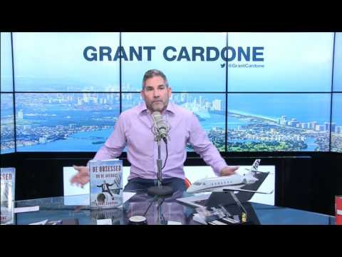 Grant Cardone Talks About Quitting & Hitting Bottom