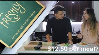 Freshly Review: $12.50 per meal? Worth it? ($60 Coupon in desc)