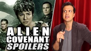 SPOILERS de ALIEN COVENANT - Review con Spoilers