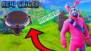 Fortnite (Battle Roayle)- 'NEW' Invisible Launchpad GLITCH