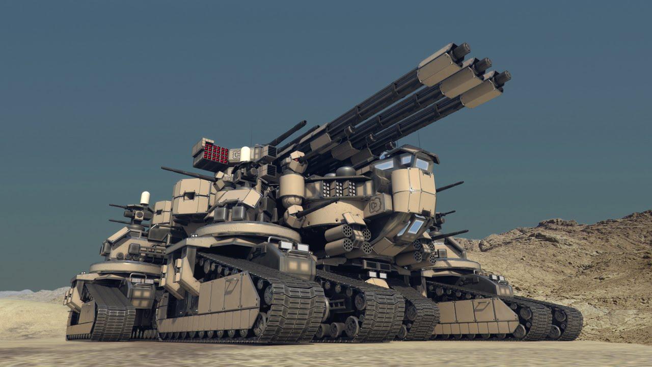 biggest military tank - photo #1