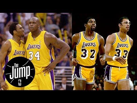 Shaq-Kobe or Kareem-Magic: Who was better Lakers duo? | The Jump | ESPN