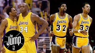 Shaq-Kobe or Kareem-Magic: Who was better Lakers duo? | The Jump | ESPN