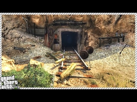secret military bunker in hidden cave gta 5 gameplay Самые