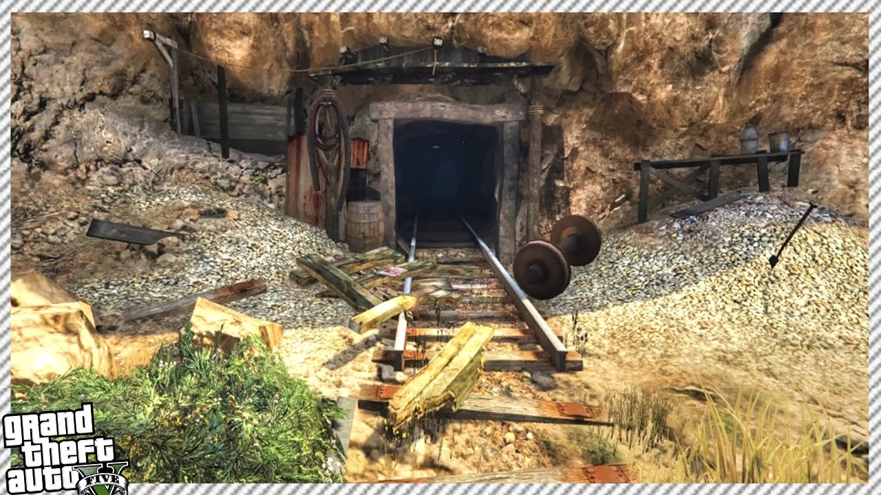 secret military bunker in hidden cave gta 5 gameplay youtube