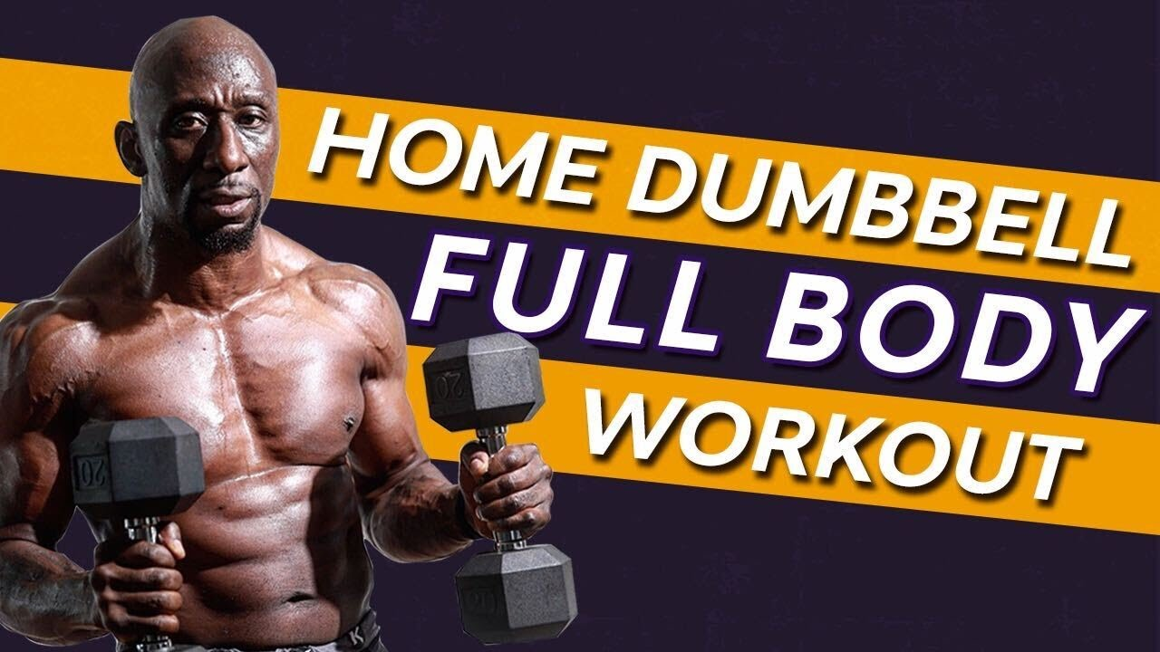Download Home Dumbbell Full Body Workout - Superset Circuit