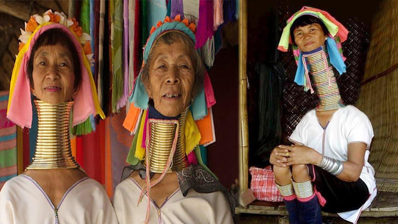 Kỳ lạ về bộ lạc có chiếc cổ dài loằn ngoằn sống ở rừng sâu Thái Lan
