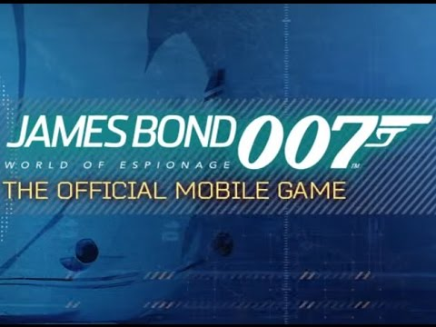 JAMES BOND: WORLD OF ESPIONAGE Gameplay Android 2015