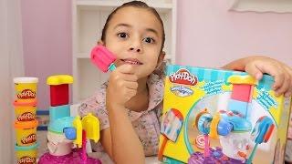 Picolés e Pirulitos de MASSINHA Play-doh