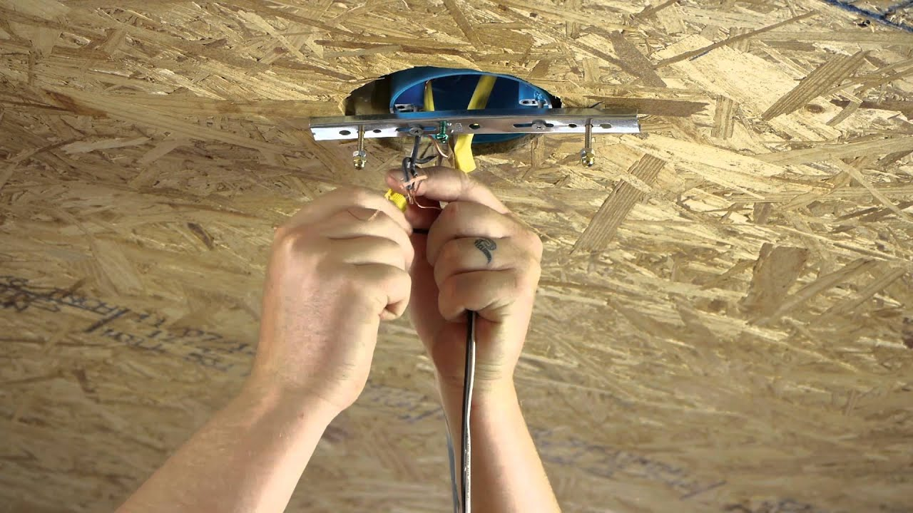 How To Install A Chandelier Over A Ceiling Fan Site : Ceiling Fans U0026 Light  Fixtures   YouTube