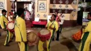 Indian Puja drum