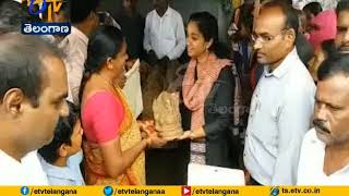 Distribution of Clay Ganesh Held at Wanaparthy | Collector Swetha Mohanthy Takes Part