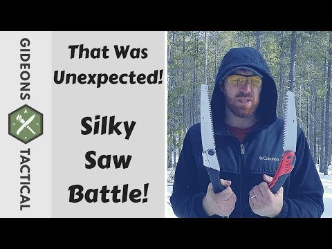 I Was Not Expecting That! Silky Saw Battle