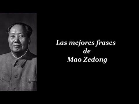 Frases Célebres De Mao Zedong Youtube