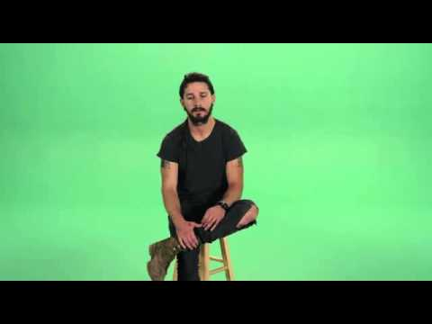 Actor - Hollywood Actor Shia Labeouf - Motivational Speech {Just Do It!}