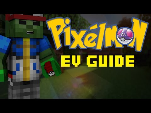 Minecraft Pixelmon - EV Training Guide And How To Do The Most Efficient Training