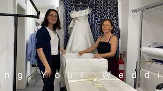 Wedding Dress Farthings dry cleaners in Cambridge and Trumpington