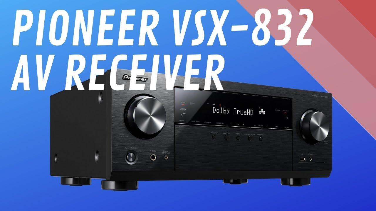 Pioneer VSX-832 5 1-Ch AV Receiver - Quick Look India