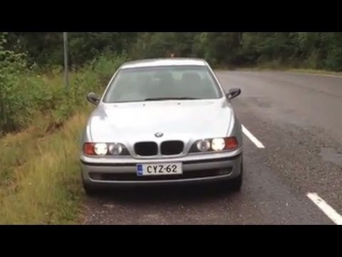 thomas 39 1996 bmw e39 523i walkaround youtube. Black Bedroom Furniture Sets. Home Design Ideas