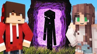 SAVING my GIRLFRIEND from the NETHER!! (Minecraft)