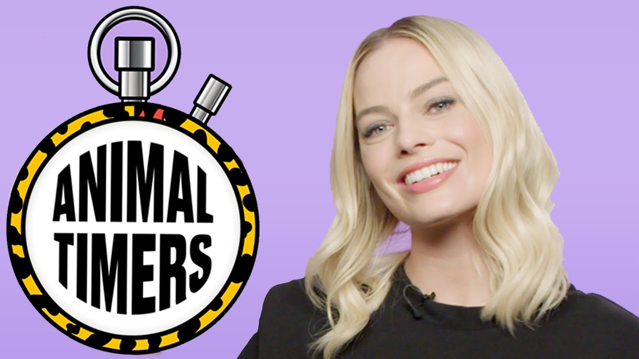 Margot Robbie and Chris Messina get VERY competitive | Animal Timers | LADbible