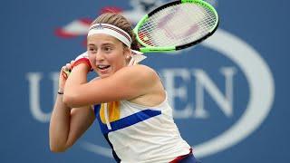 2017 US Open: Jelena Ostapenko R1 press conference