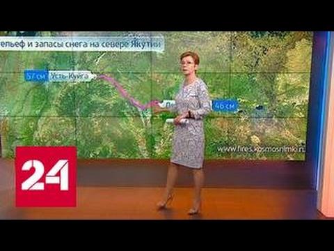 """""""Погода 24"""": якутские поселки завалило снегом"""
