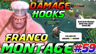DAMAGE FRANCO HOOKS MONTAGE #59   GamEnTrix   MOBILE LEGENDS