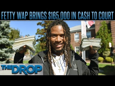Fetty Wap Brings Stacks for his Court Date – The Drop Presented by ADD