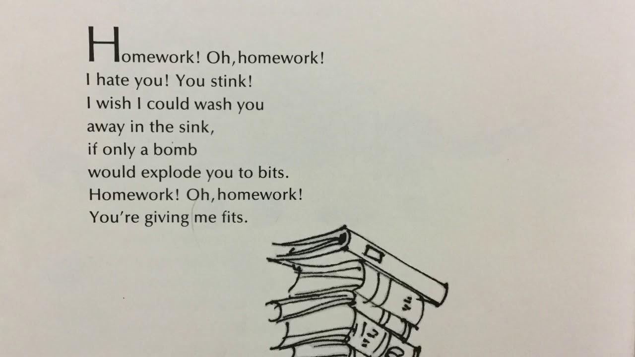 For homework