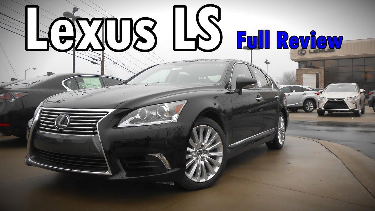 2017 Lexus LS 460: Full Review | LS 460, LS 460L U0026 F Sport   YouTube