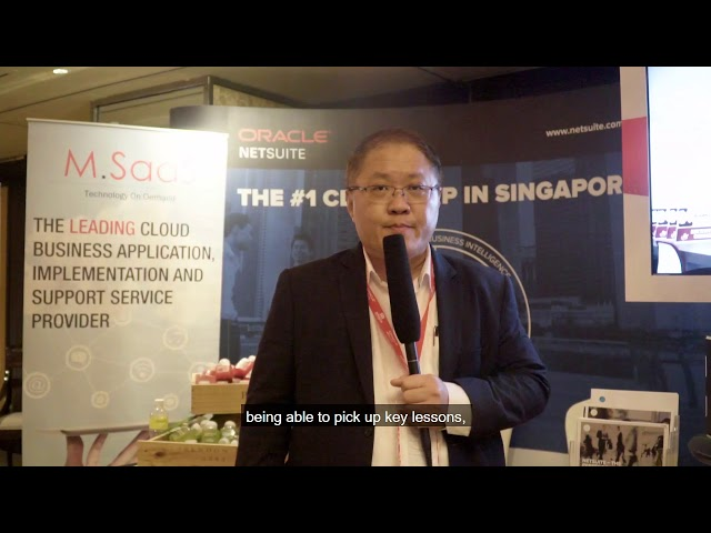 H.E.R Asia Summit 2018 - Oracle Netsuite | Exhibitor's Interview