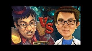 TRUMP VS AMAZ! - A Witchwood Deck Showdown - Hearthstone - The Witchwood