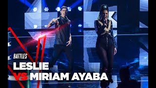 "Miriam e Leslie  ""Run The World"" - Battles - TVOI 2019"