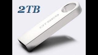 Pen drive de 64GB, 128GB e 2TB