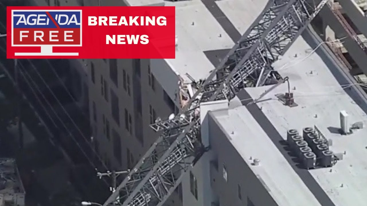Crane Collapses onto Apartments in Dallas - LIVE BREAKING NEWS COVERAGE