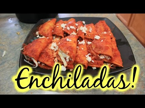 Recipe: Enchiladas With Mexican Rice
