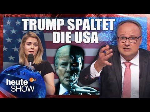 Trump schürt mal wieder Ängste – weil Wahlen anstehen | heute-show vom 02.11.2018