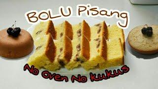 Resep Bolu Pisang,No oven,No Kukus,Anti Gagal Dengan Rice Cooker