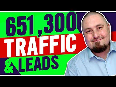 651,300 Visitors: Website Traffic & Lead Generation Strategy