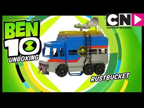 Ben 10 Toy Unboxing | Rustbucket Transforming Alien Playset | Coming Soon! | Ad Feature