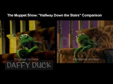 The Muppet Show: Halfway Down the Stairs Comparison
