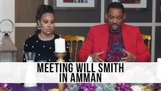 #GirlWithTheRedSuitcase | Meeting Will Smith | لما شفت ويل سمث